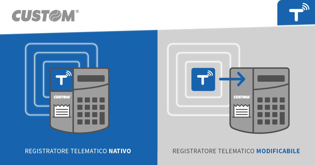 Come passare al telematico: Registratore Telematico Nativo o Regisratore Telematico Modificabile