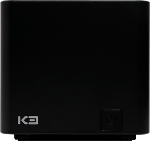 Front view of the POS printer K3 Custom