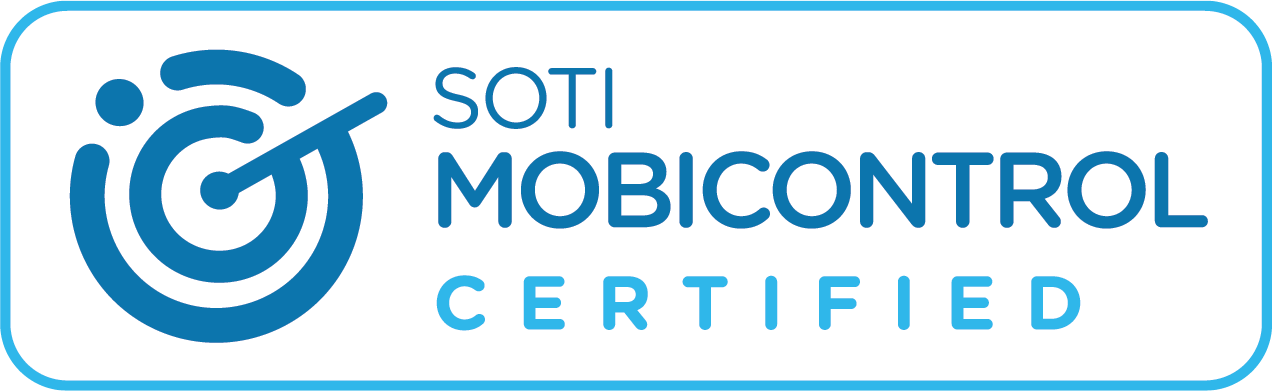 SOTI Mobicontrol Certified